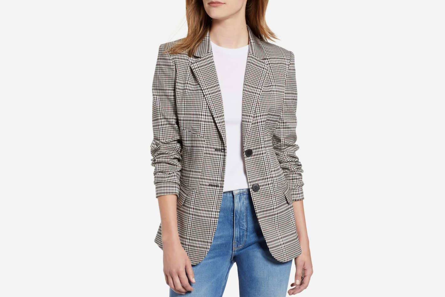 Chelsea28 Plaid Blazer
