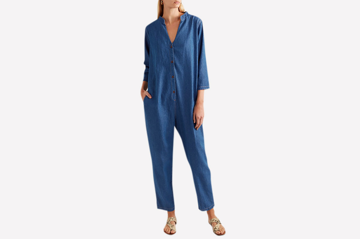 Hatch Denim Jumpsuit