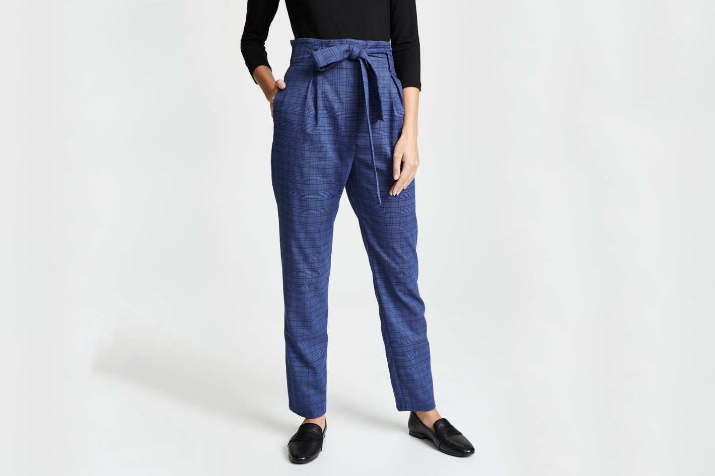 WAYF Randell Paperbag Waist Pants