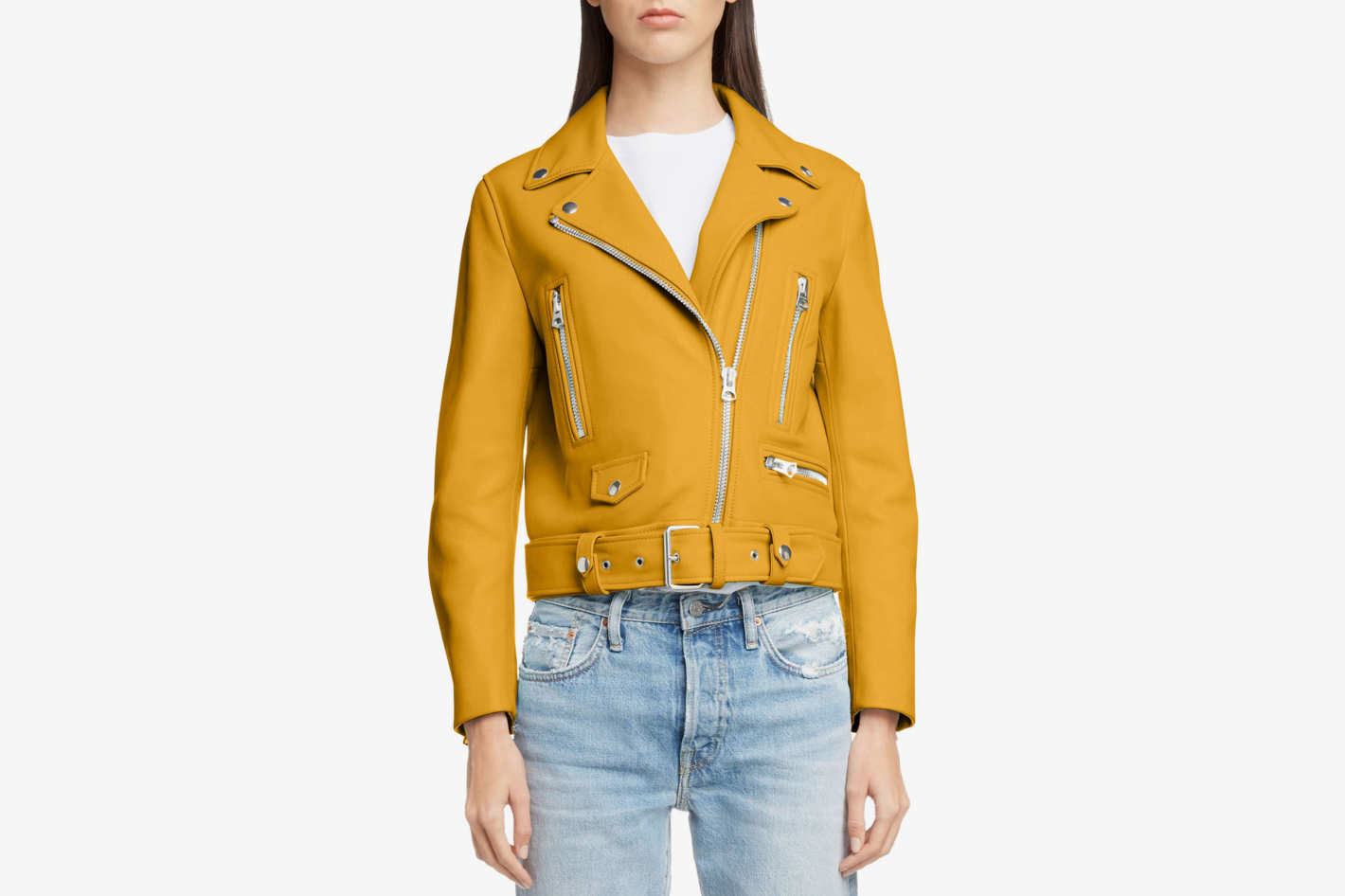 45010aea7ce55 Acne Studios Leather Moto Jacket at Nordstrom
