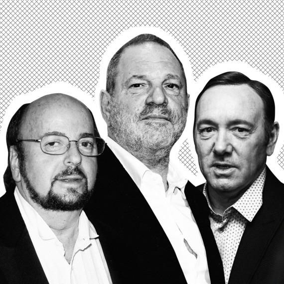 James Tobak, Harvey Weinstein, and Kevin Spacey.
