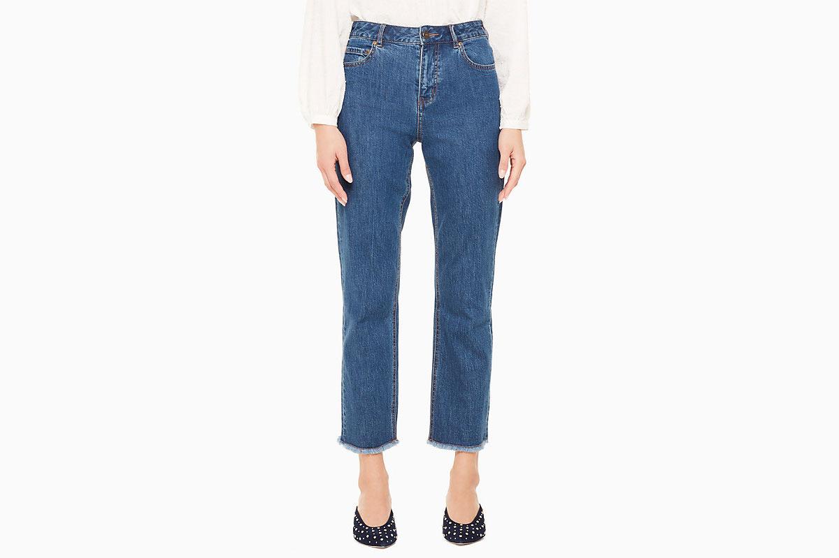 Kate Spade Raw Hem Jeans