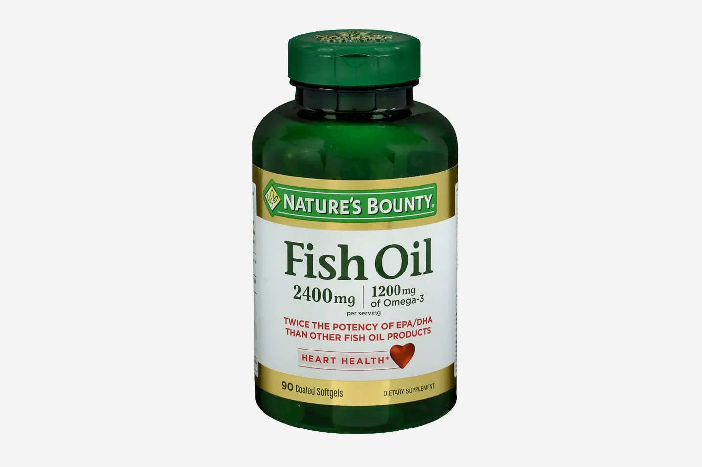 Nature's Bounty Fish Oil Odorless Gels