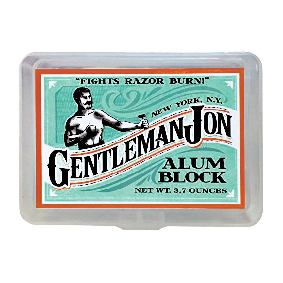 Gentleman Jon Alum Block Aftershave
