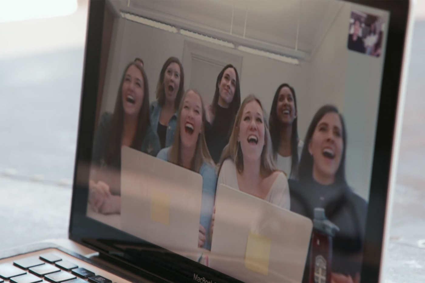 girl caught on skype cheating