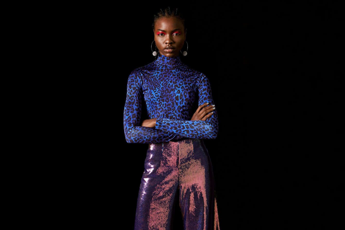 Cheetah Bodysuit by Topshop x Halpern