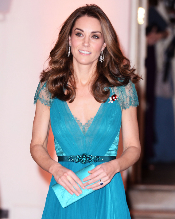 Kate Middleton wearing the gown in 2018.