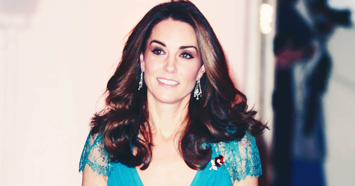 515a118d933 Kate Middleton Re-Wore One of Her Most Iconic Dresses