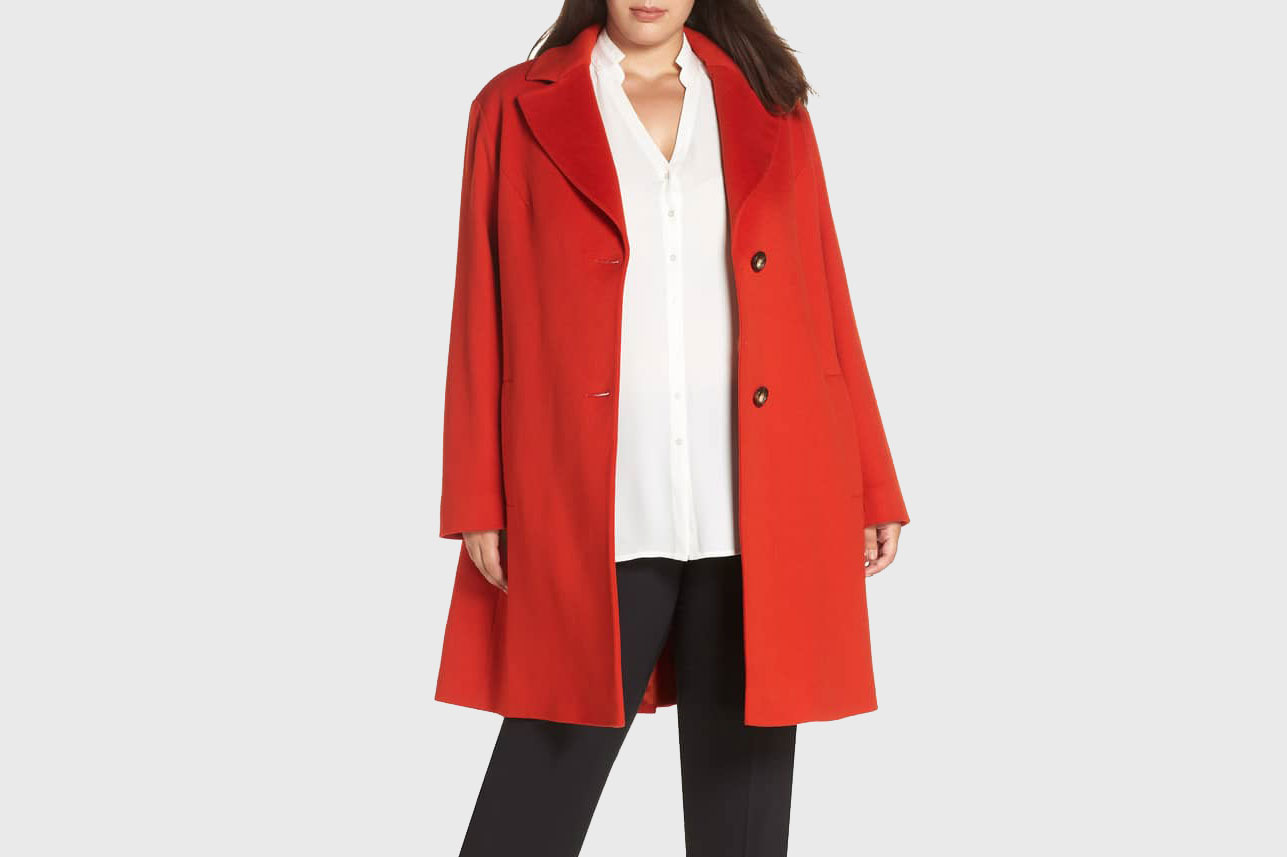 Loro Piana Fleurette Wool Long Coat