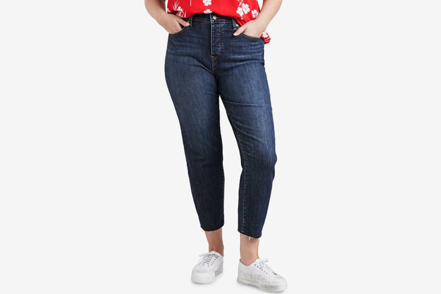 d5e2a5d038 Good American Good Legs High Waist Ankle Skinny Jeans at Nordstrom. Buy ·  Levi s Plus Size High-Waist Skinny Wedgie Jeans at Macy s
