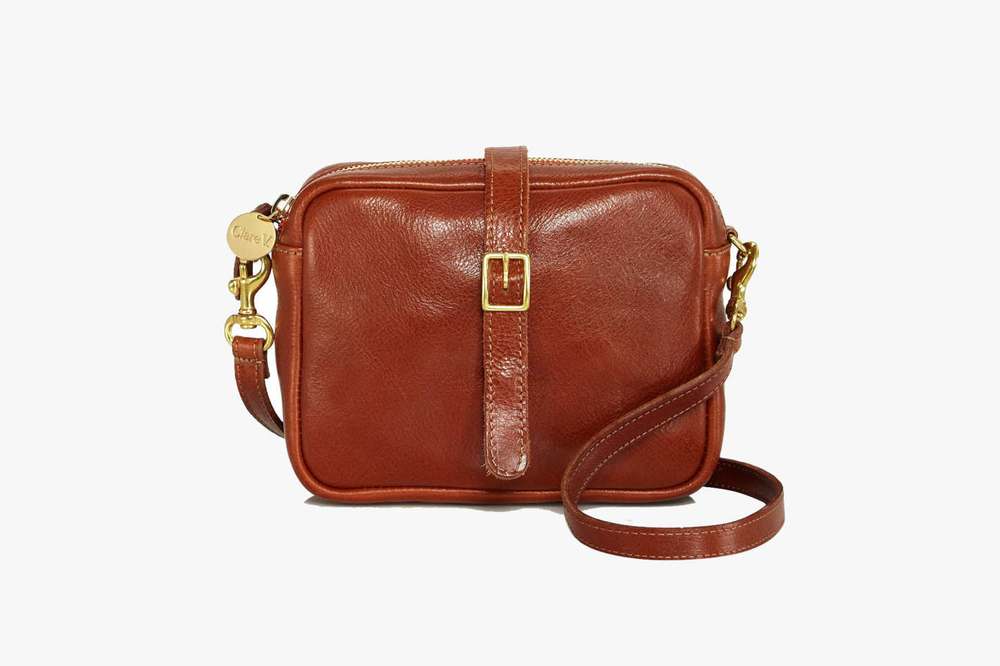 Clare V. x Kodak Sac de Camera Leather Crossbody Bag