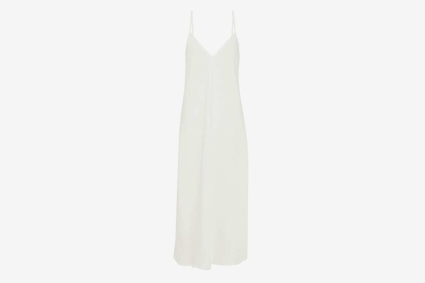 Ellery Eleventh Hour Crepe De Chine Midi Slip Dress