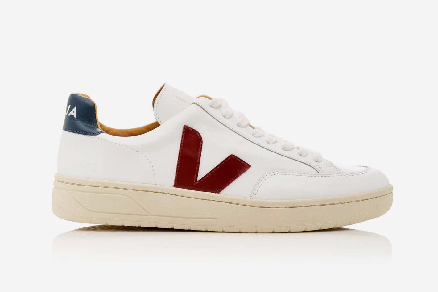 Veja Bastille Two-Tone Leather Sneaker
