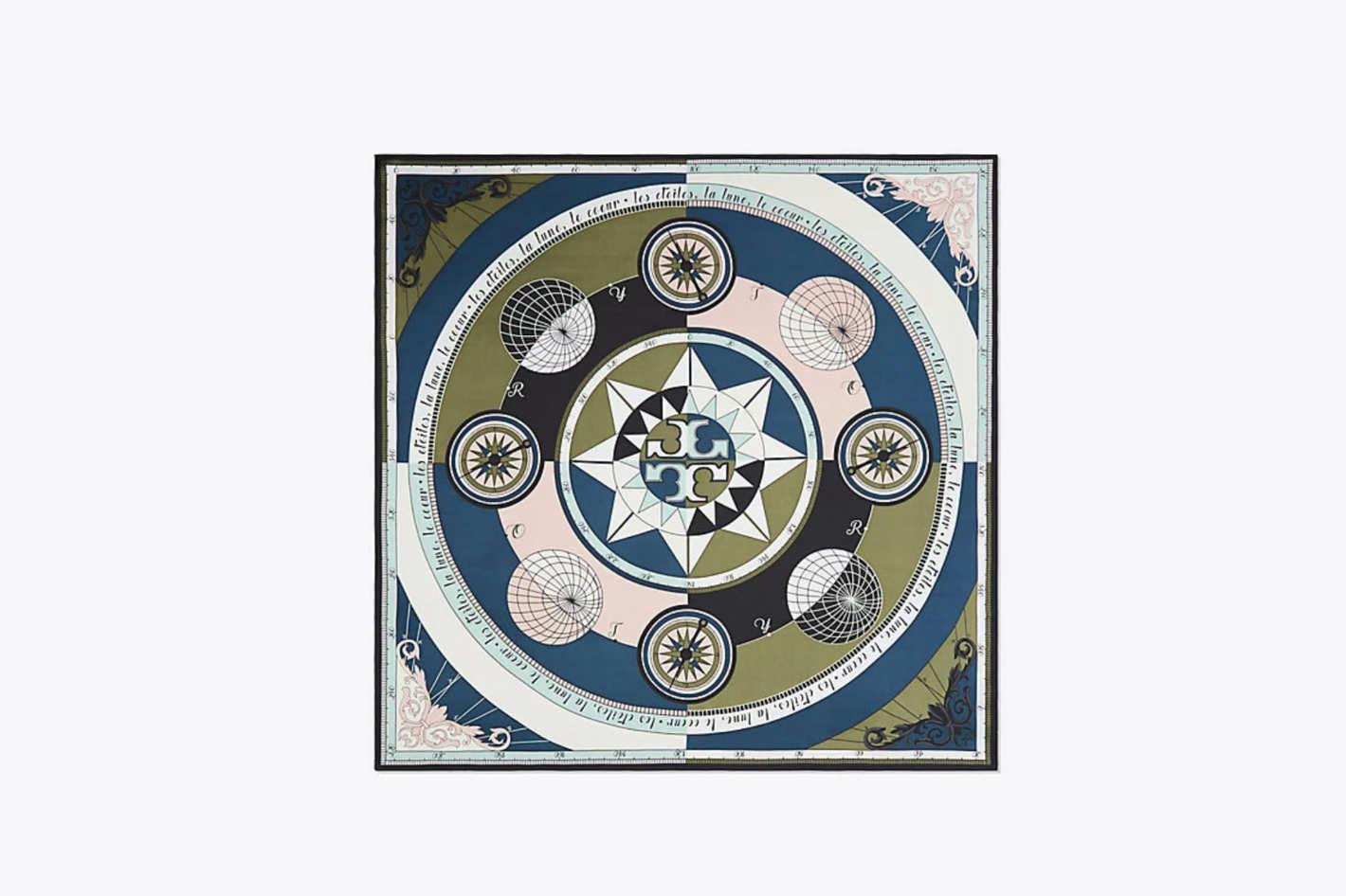 Constellation Silk Square Scarf