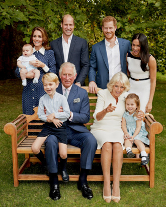 Prince Charles and his royal family.