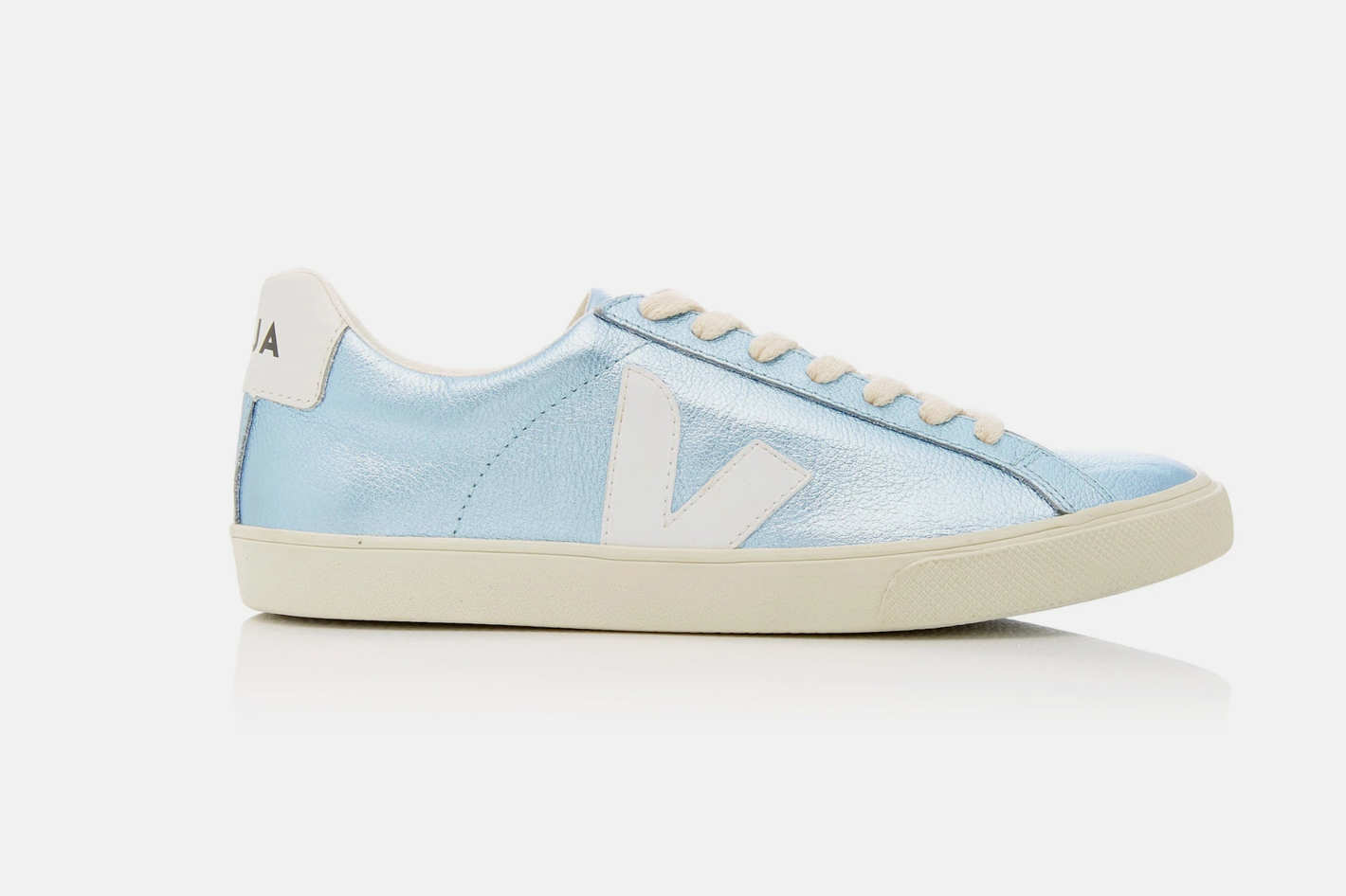 Veja Esplar Metallic Leather Sneakers at Moda Operandi 58dbd66ec
