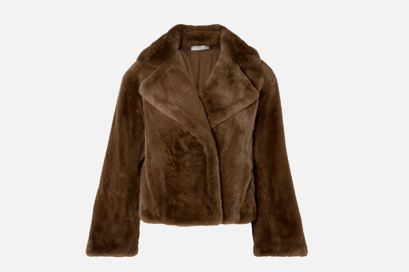 Vince Faux Fur Coat