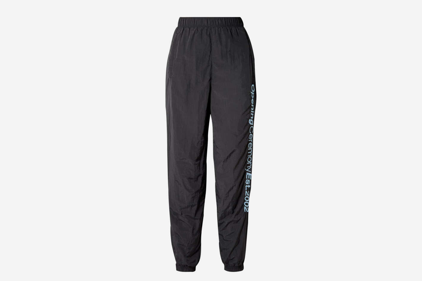 Opening Ceremony Embroidered Crinkled-Shell Track Pants