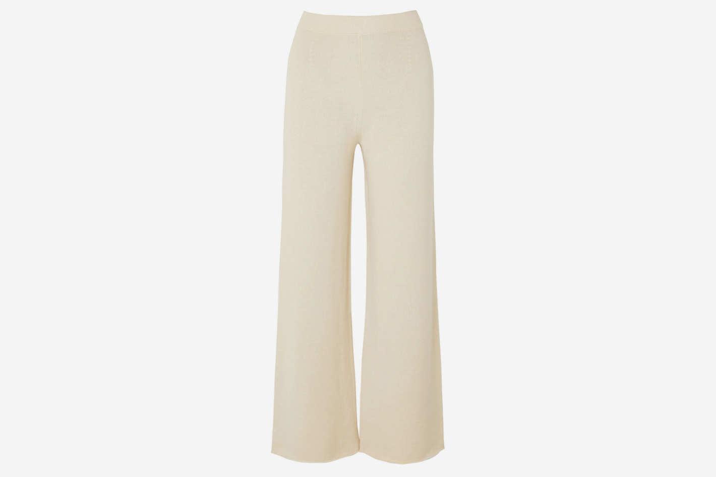 Mansur Gavriel Alpaca and Silk-Blend Pants