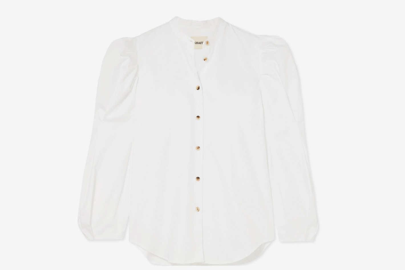 Khaite Rebecca Cotton-Poplin Shirt