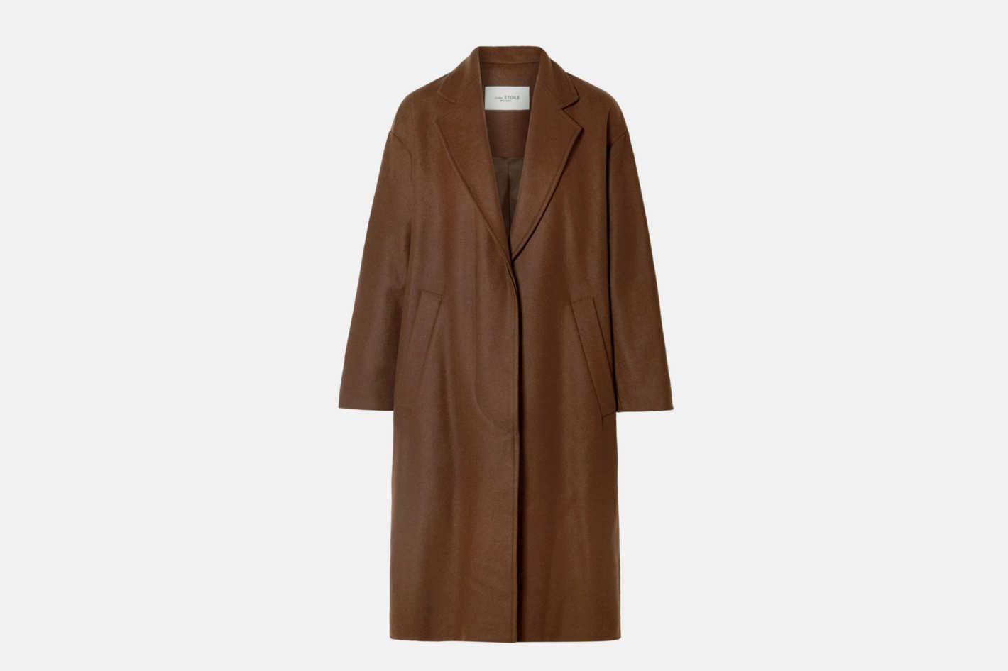 Isabel Marant Etoile Cody Oversized Wool-Blend Coat