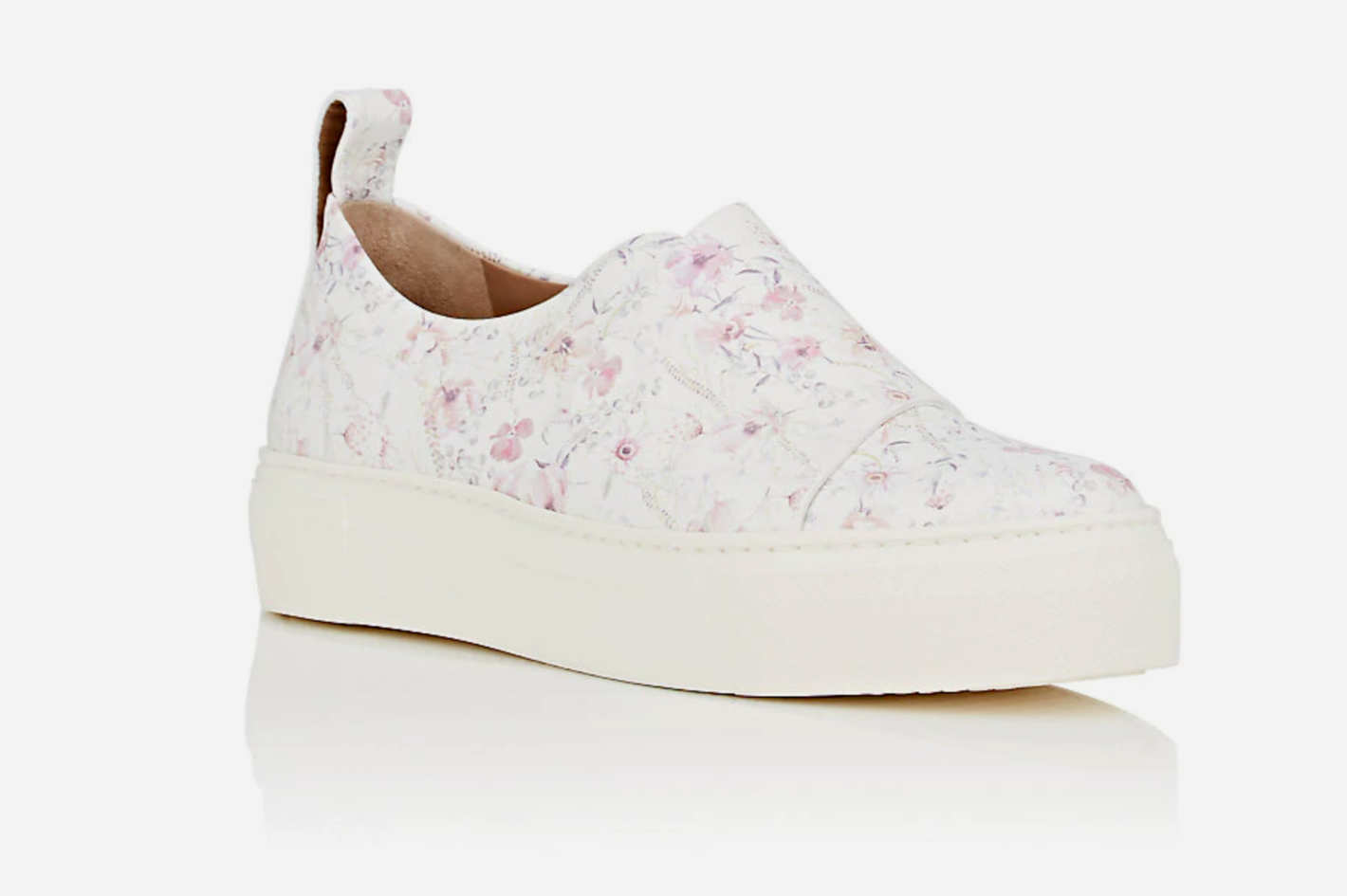 Calvin Klein Ariel Leather Platform Sneakers