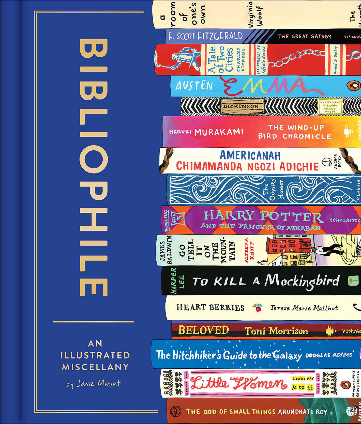 <em>Bibliophile</em> by Jane Mount