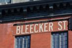 Bleecker Street Sign, Greenwich Village, New York City