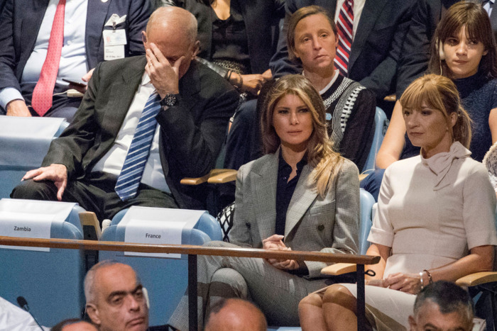 John Kelly at the U.N. General Assembly.