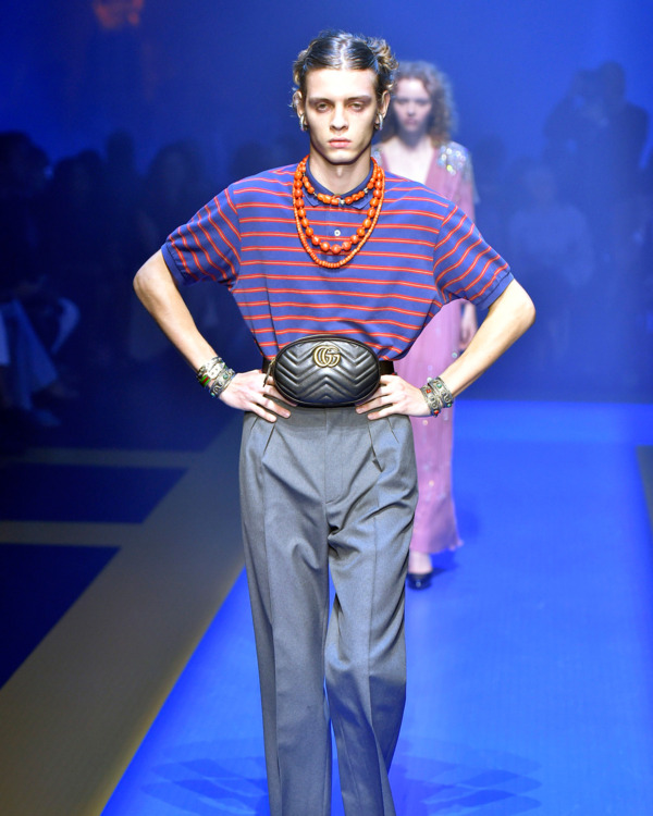 24c76e2e921 Fanny Packs Accounted for 25 Percent of Accessories Economy Growth. By  Emilia Petrarca  emiliapetrarca. Gucci spring 2018.