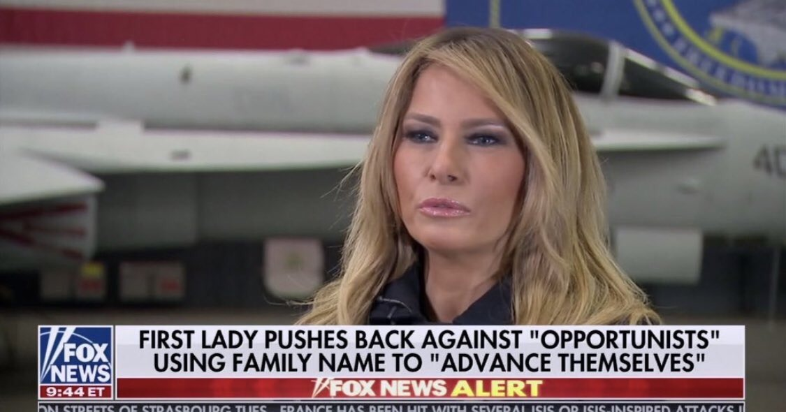 Melania Trump Goes Blonde on Fox News