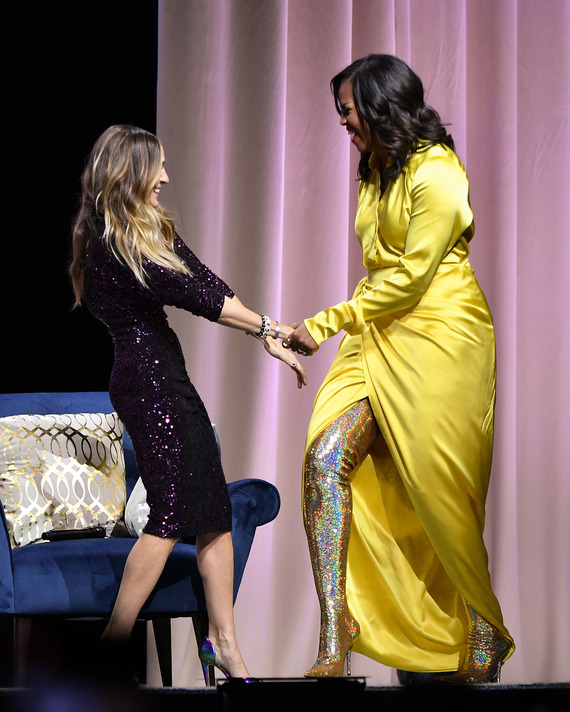 f43643dc7dc7f Sarah Jessica Parker and Michelle Obama. Photo: Dia Dipasupil/Getty Images
