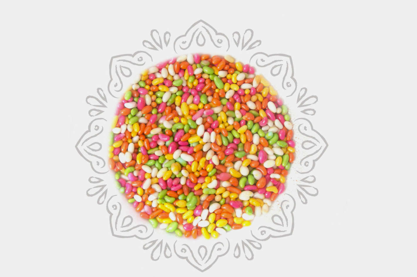 Sugar-Coated Fennel Seeds