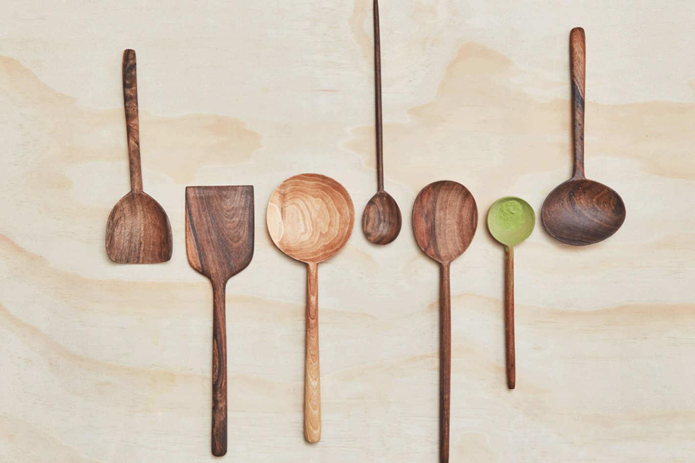 Simple Walnut Spoons