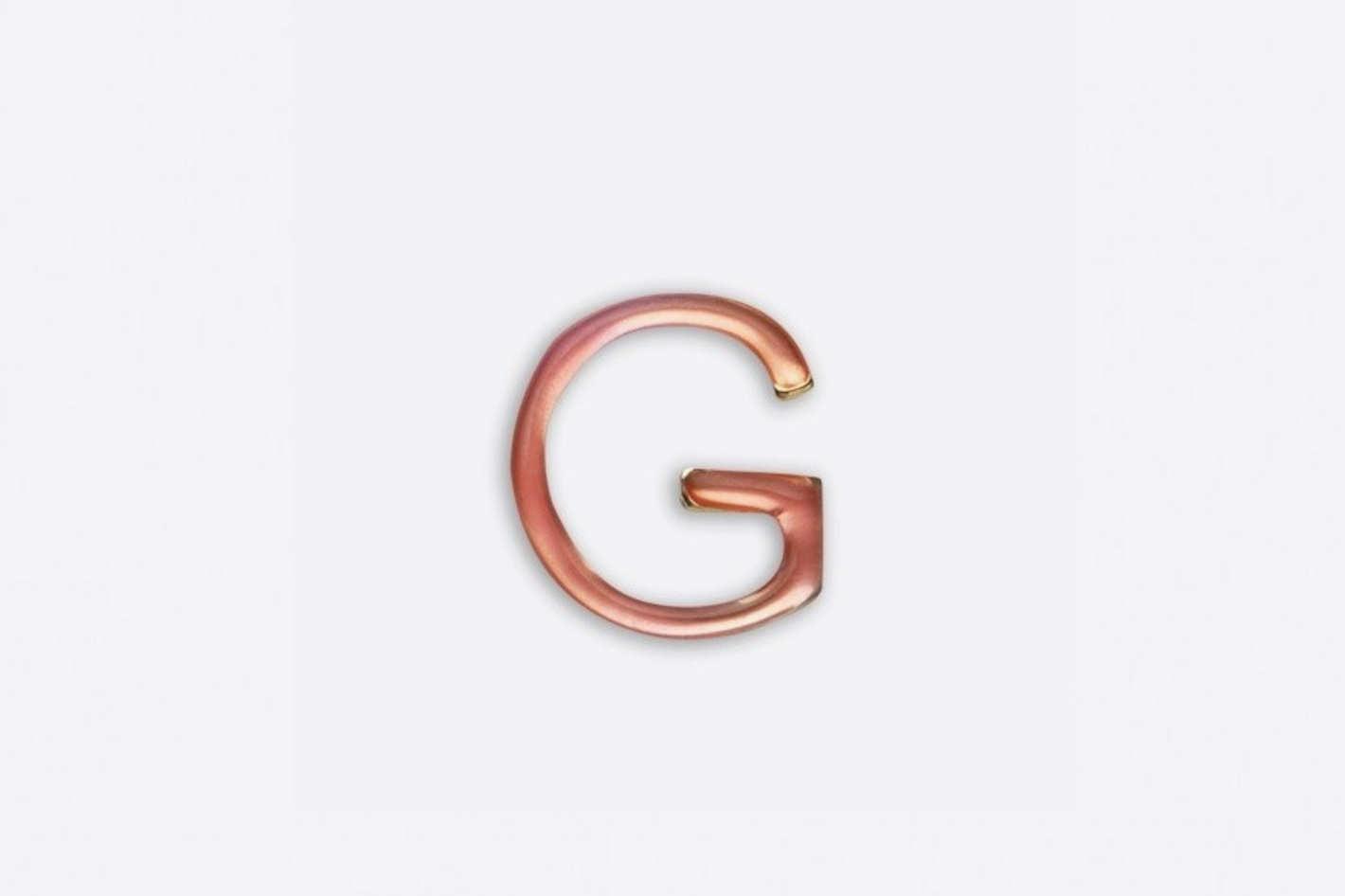 Enamel Letter H