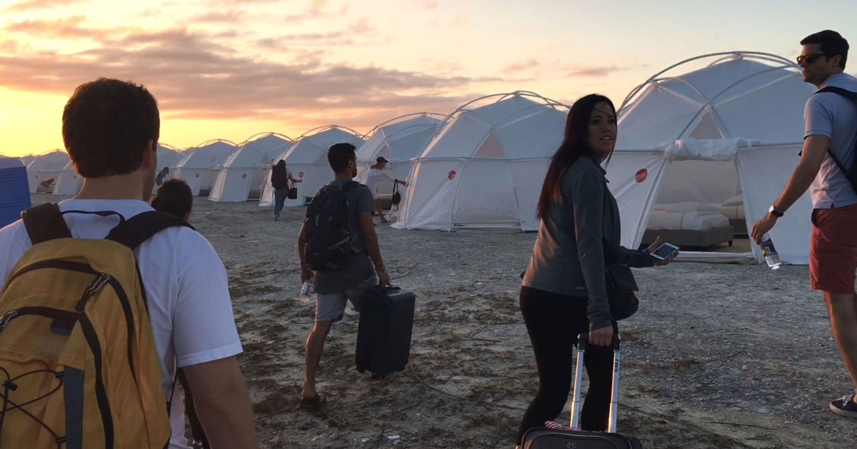 How Long Would You Have Lasted at Fyre Fest?