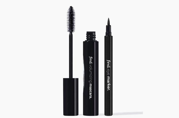 find. - Midnight Black Bundle (Black Volumising Mascara and Black Eye Marker)