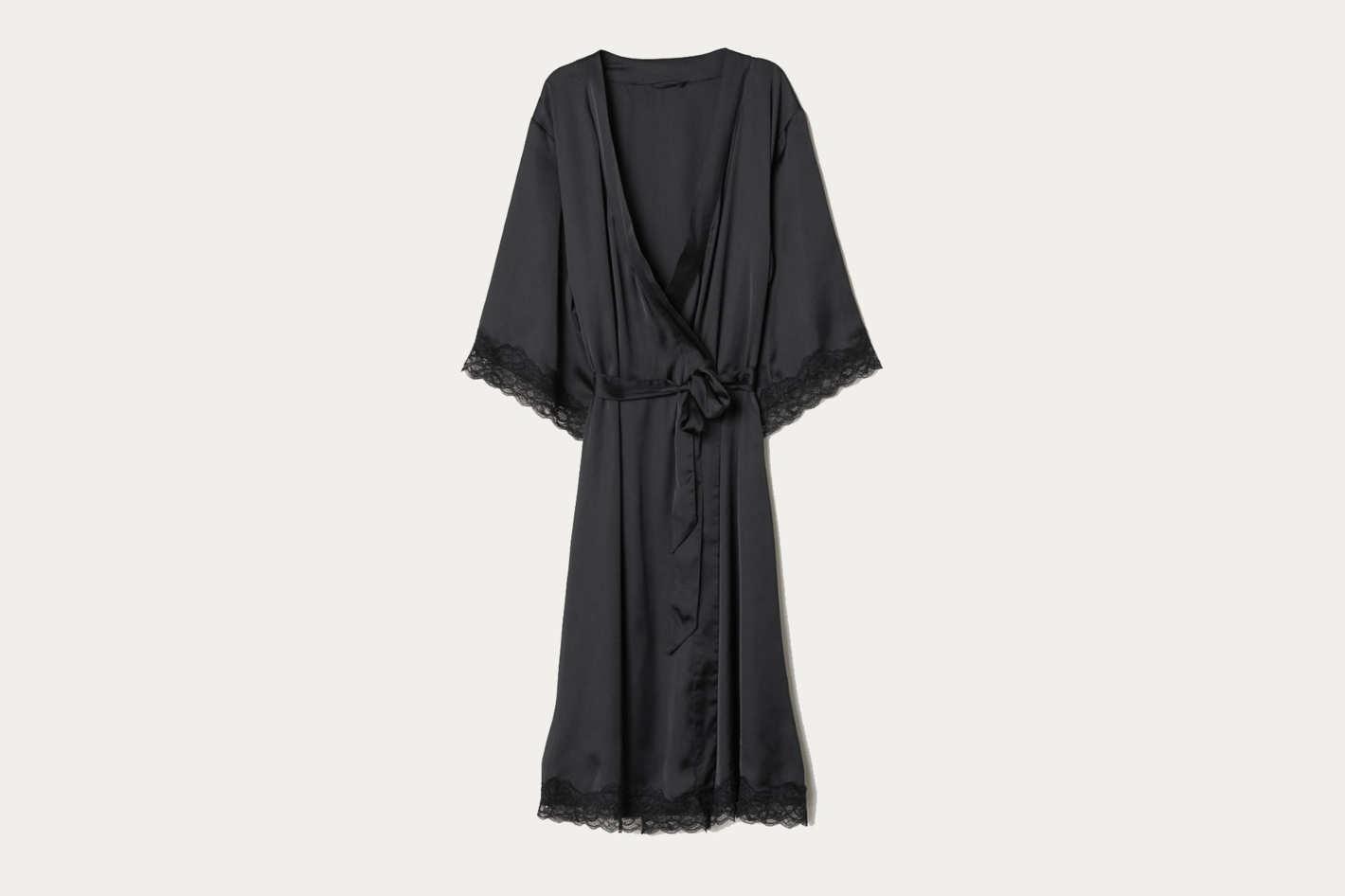 Kimono with Lace