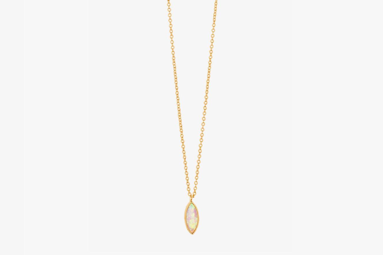 Gorjana Rumi Pendant Adjustable Necklace
