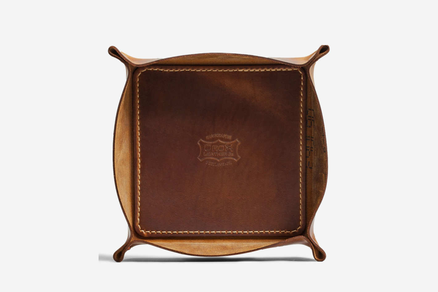 Orox Leather Co. Dublin Leather Tray