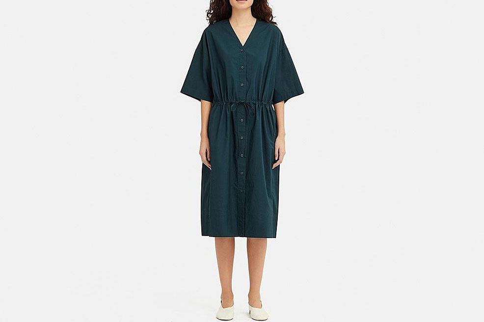 Women U Shirt Short-Sleeve Dress
