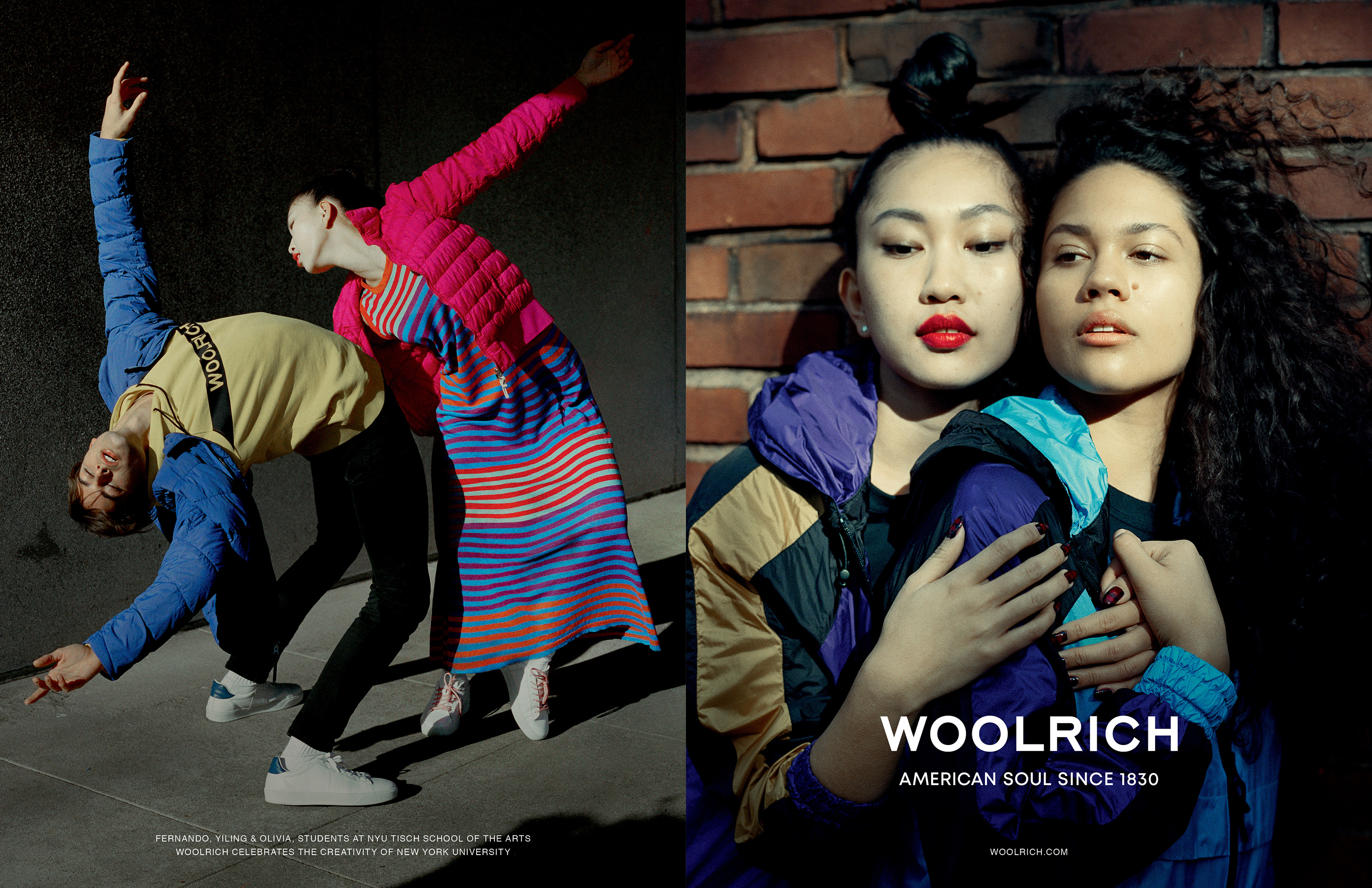 Woolrich Collaborates With NYU Students for Spring Campaign
