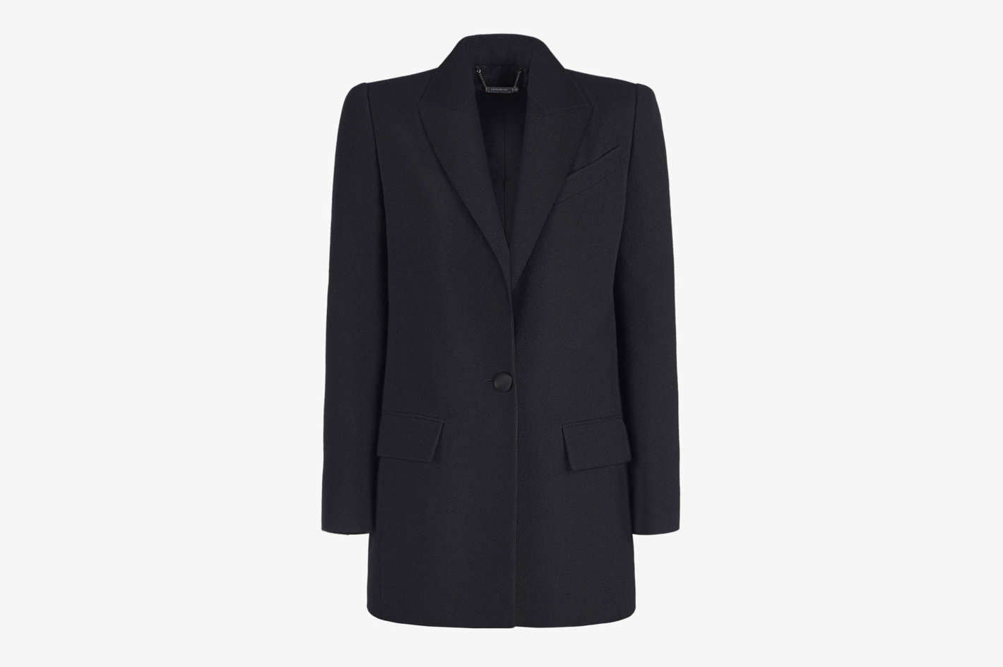 Givenchy Wool Fitted Jacket