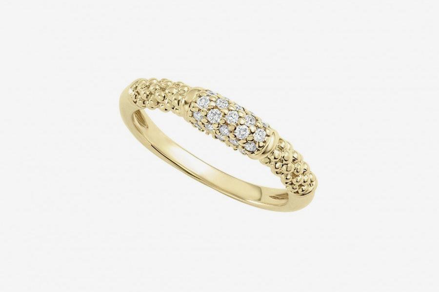 Lagos Gold Caviar Ring
