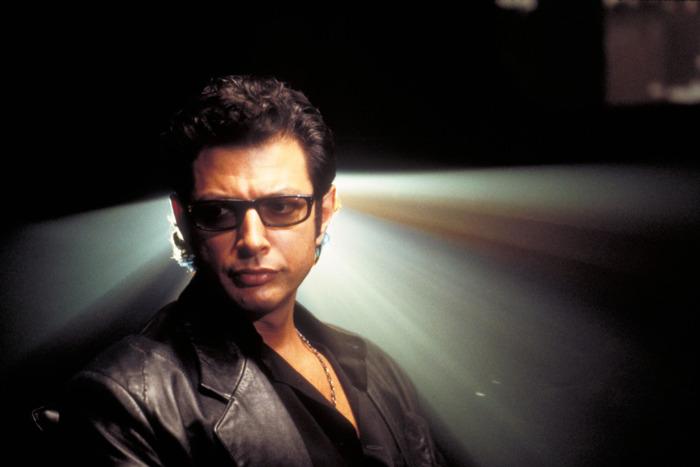 Jeff Goldblum as Dr. Ian Malcolm.