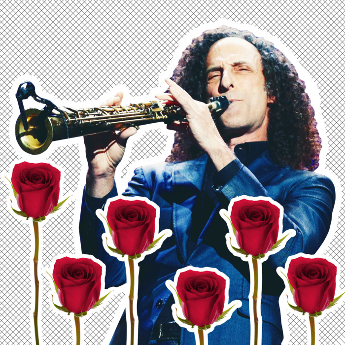 Kenny G and roses.