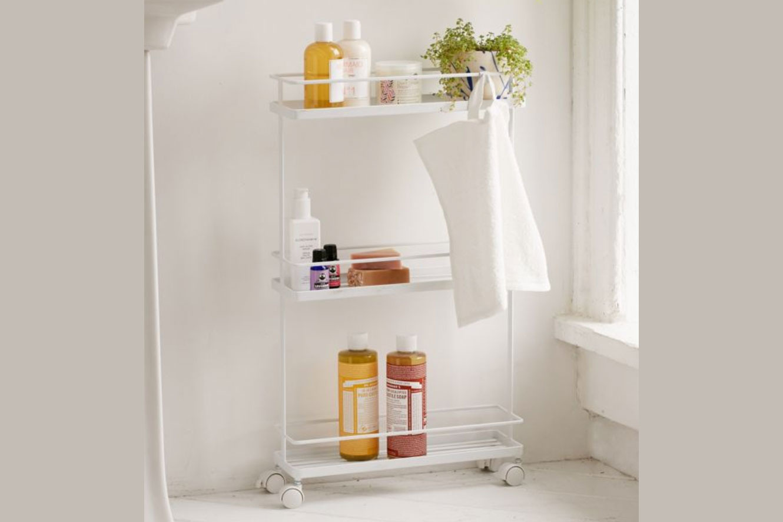 Yamazaki Tower Bathroom Storage Cart
