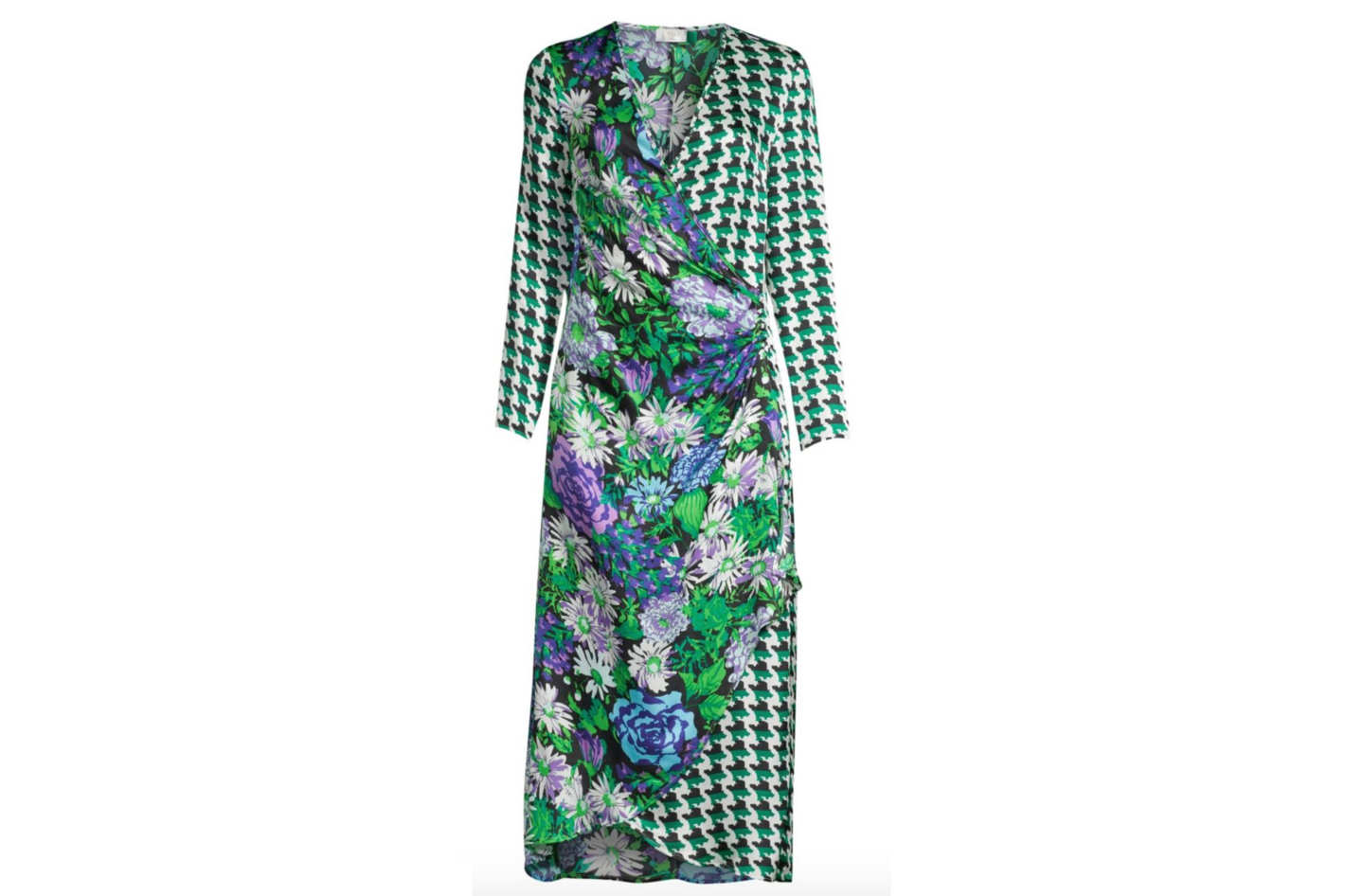 Rixo Betty Wrap Dress