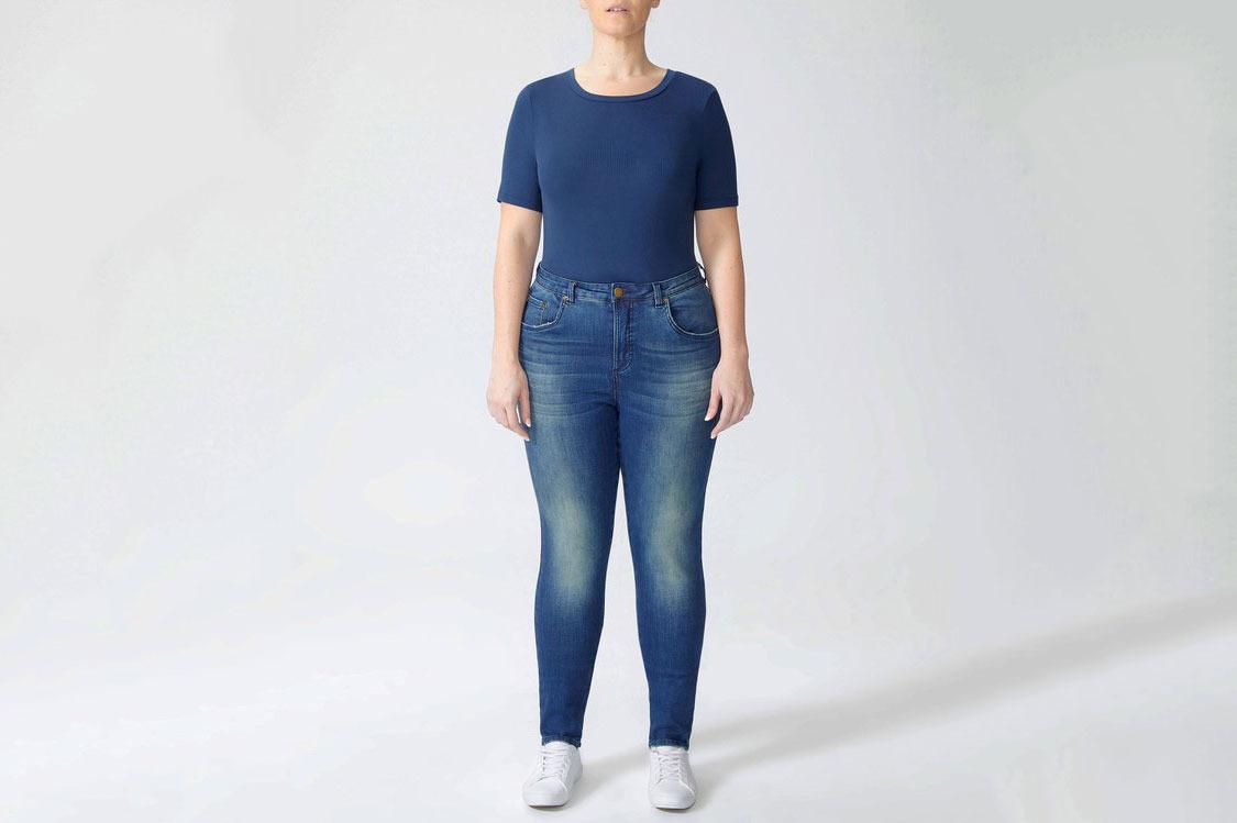 Logan High Rise 5 Pocket Vintage Jeans