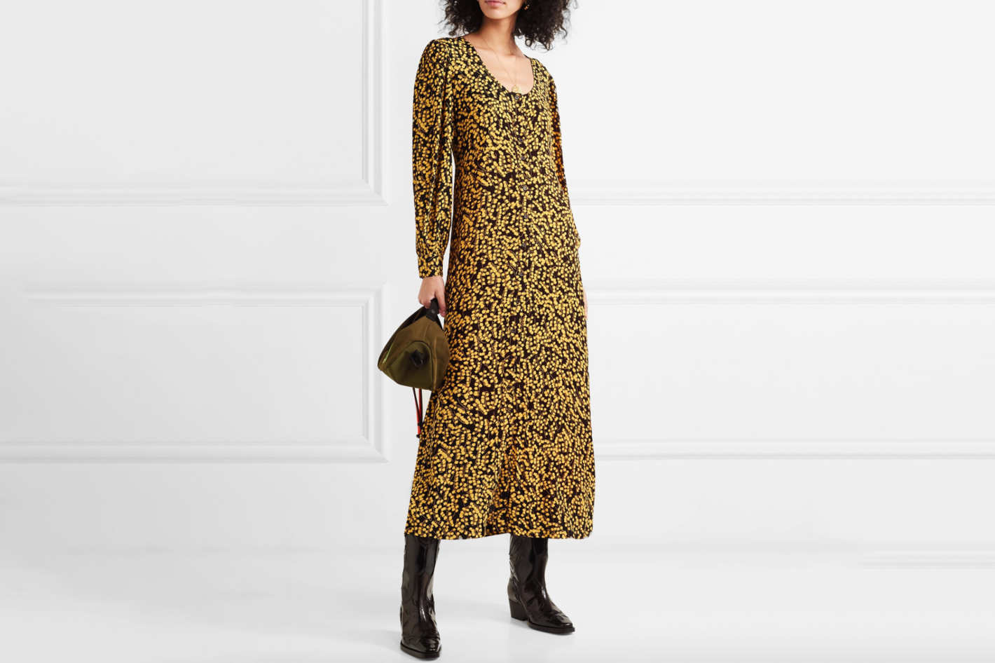 184ef0afd948 Spring 2019 Trend  13 Best Printed Long Sleeve Dresses